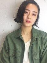 クリアーオブヘアー 栄南店(CLEAR of hair)【CLEAR】黒髪切りっぱなしボブ