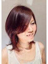 ヘア デザイン クリニック アンテナ(hair design clinic ANTENNA)お色気大人ウルフ