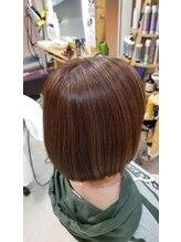 ヘアースペーストワ(Hair Space 108)ハイライト グラボブ 髪質改善トリートメントで☆