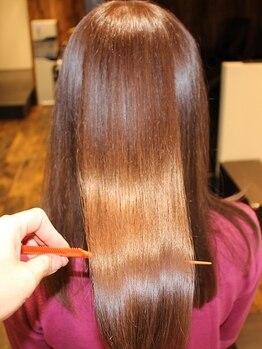 ヘアーデザインガーデニア(hair design Gardenia)の写真/【赤羽5分】話題の《Xトリートメント》導入!どんなに傷んだ髪も、極上の美しい髪へ導くトリートメント♪