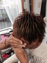 ヘアーアンドメイクサロン ハナココ(hair&make salon hana Coco)スジ盛り