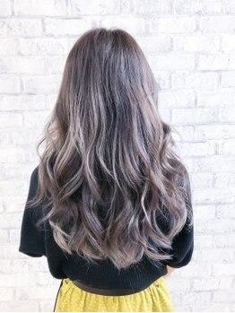 ヘアダイニング ボア(hair dining BoA's)の写真/《水沢/キッズスペース有》透明感×ツヤ感が叶うBoA'sのカラー☆周りと差がつくデザインカラーでHappyに♪