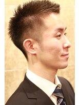 バルビエ グラン 銀座(barbier GRAND)王道ソフトモヒカン刈り上げショート <理容室>