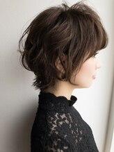 シエル ヘアーデザイン(Ciel Hairdesign)【Ciel】メリハリのある上品な小顔ショート