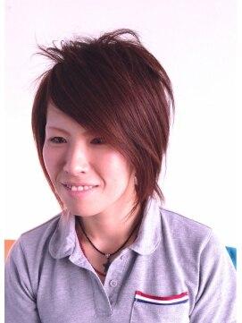 ヘアーカーブ(haircarve)haircarve初夏☆ピアス・レイヤーボブ