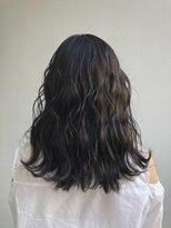 ビーヘアサロン(Beee hair salon)透明感溢れるダークグレージュ