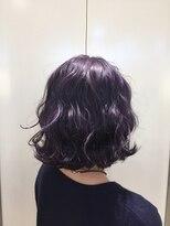 ヘアサロン ドット トウキョウ カラー 町田店(hair salon dot. tokyo color)【lavender blue】ダブルカラーカラーリスト田中【町田】