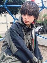■ハイライトカラー小顔クールショートウルフM.SLASH桜新町8-1★