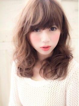 ヘアーライフデザインスアー(hair life design Suah)の写真/日々進化する技術で『今までにない日常をデザイン♪』やわふわカールでなりたいスタイルを実現☆