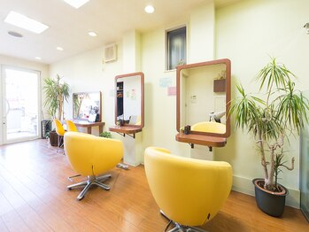 ヘアーメイク ビーエスケーピー(hair make B.S.K.P)の写真/【平野駅徒歩6分】アットホームな雰囲気で居心地◎大人の癒し系空間で上質なサロンtimeを堪能できる♪