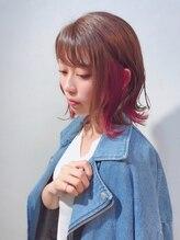ヘアーアート リアンジュ(hair art Lienge)インナーカラー+全頭カラー♪