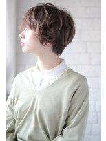 ヘアーアンドメイク フォルス(HAIR&MAKE FORS)【FORS】西田ゆか 柔らか質感*マッシュショート