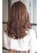 リタへアーズ(RITA Hairs)[RITA Hairs]ハイライトxカッパーベージュ☆お客様BackShot