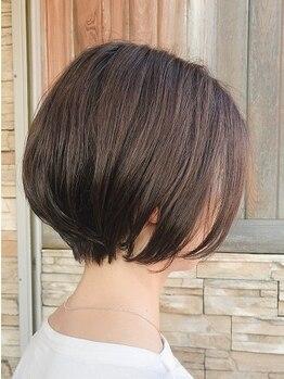 スニップ(Snip)の写真/頭皮と髪に優しい施術で、自然な仕上がりのヘアスタイルに*