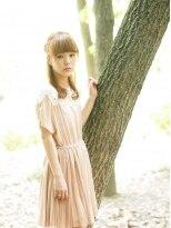 【LOJE】大人かわいい 編み込みをいれたアレンジStyle☆