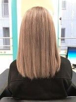 マーメイドヘアー(mermaid hair)ハイブリーチ→ミルクティー