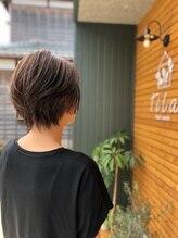 ヘアルームティラ(hair room tila)大人ショートボブ