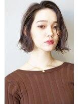 ヘアサロンガリカアオヤマ(hair salon Gallica aoyama)☆3Dカラー × モカグレージュ ☆ 外国人風無造作ボブ☆