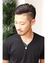 ヘアーサロン フォーメン イデア(hair salon for Men idea)リーゼントスタイル×2ブロック☆