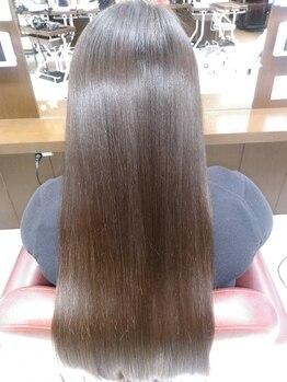 スタイルクリエイター 水戸店(Style Creator)の写真/【憧れの艶髪ストレートに…☆】気になるクセや髪質に悩んでいる方、自分の髪にもう悩まないで下さい*