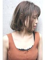 フェス カットアンドカラーズ(FESS cut&colors)『FESS 鶴丸』【カーキブラウン×大人ボブ】