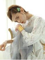 ガレットウメダ(GALETTE UMEDA)夏のヘアアレンジ#センシュアルショート#アッシュ#ガレット梅田
