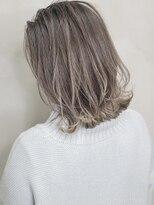 ソース ヘア アトリエ 京橋(Source hair atelier)【SOURCE】シルバーベージュ