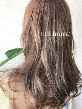フルハウス (Full house HAIR DESIGN)の写真/今話題のカラーを多数取り扱い中☆ダメージを軽減させながら、お客様のご要望を叶えさせて頂きます!!