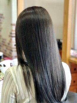 ココ テラス(coco terrace)の写真/繰り返すカラーは髪への負担が想像以上…サロンでの本格ケアでハイトーンカラーでも驚きのツヤ髪に!