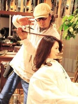 ワンパーセンタープロフェッショナル(1%er professional)の写真/[銀座4分/東銀座30秒]多数のヘアコンテスト優勝の実力店!丁寧なカウセリングで『なりたい』が叶います。