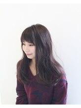 ヘアーサロン ファイブシー(HAIR SALON 5C)透け感のあるピンクベージュ