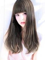 【大人可愛いイルミナカラーブルーベージュ】Hayato Ooshiro
