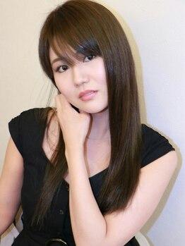 ベニ 仙台鈎取店(BENI)の写真/髪へのダメージを最小限に抑えながら、憧れのサラツヤストレートが叶う☆自然な艶感のある柔らかヘアに。