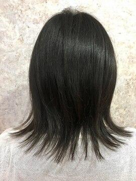 シュガービー(SUGAR-B)【SUGAR-B】黒髪レイヤーミディ