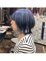 ロコマーケット 下北沢店(hair meke Deco.Tokyo)ハイトーンボブスタイル