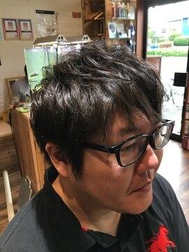 ワズ(W@Z)【クセ毛】パーマ風のショートスタイル