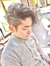 オムヘアーツー (HOMME HAIR 2)バーバー×グランジカーリー・Hommehair2nd櫻井