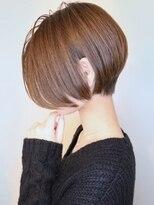 【morio池袋】2018年秋冬流行髪型大人可愛い前下がりショート♪