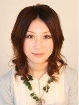 ヘアメイク オブジェ(hair make objet)しっとり上品なフェミニンパーマ