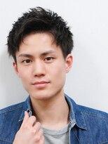 ベンケイ(HAIR AVENUE benkei)【黒髪好感度!】アップバング爽やかベリーショート