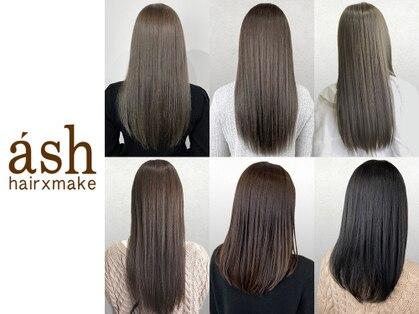アッシュ ヘアーメイク 桐生(ash hair×make)の写真