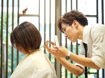 """ヘアメイク クリア 本店(hair+make CLEAR)の写真/大人気!似合わせカット☆お客様の""""なりたい""""を叶えます*朝のセットも簡単な優秀ヘアをご提案◎"""