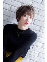 マニッシュショート【miel hair blanc】
