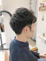 ルルカ ヘアサロン(LuLuca Hair Salon)LuLucaお客様☆スナップ メンズショートパーマ