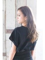 ソフトヘアカッターズ(soft HAIR CUTTERS)センターパート【エアリーフェザー】小顔効果ロング