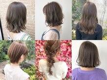 髪の専門家、毛髪診断士が監修したここにしかないメニューを是非体験して下さい☆