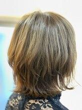 ヘアースペース オブジェ(Hair Space Objet)ふわふわレイヤーボブ☆外ハネ