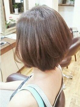 リン ヘアファクトリー アンド アイラッシュサロン(RIN)の写真/【乾かすだけでヘアスタイルが整う♪】熟練スタイリストの高技術で、あなたの魅力がもっと輝くスタイルに☆