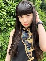 ラパンセジョーヌ(LA PENSEE JAUNE)【LA PENSEE】ハイライト×前髪×ロング★