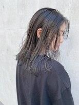 アクアオモテサンドウ(ACQUA omotesando)極上の透明感♪【ツヤ感たっぷりブルーシルバー】古本